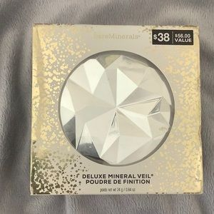 NEW bare minerals deluxe mineral veil powder SE